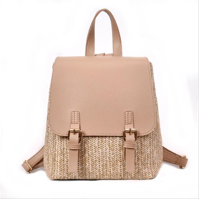 Straw Backpack - Manifest Best Boutique