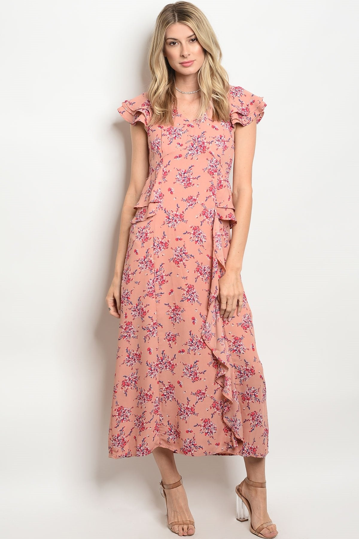 Womens Floral Dress - Manifest Best Boutique