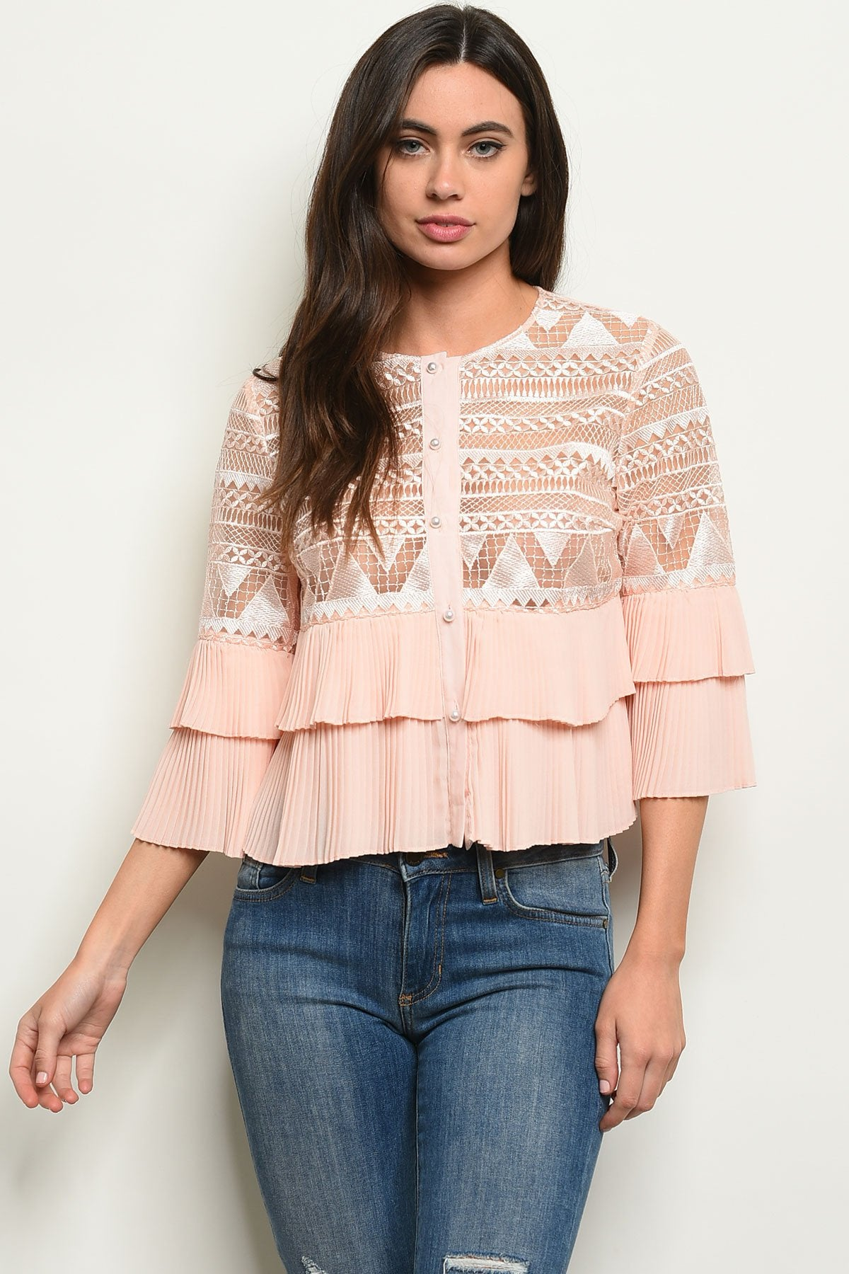 Womens Crochet Top - Manifest Best Boutique