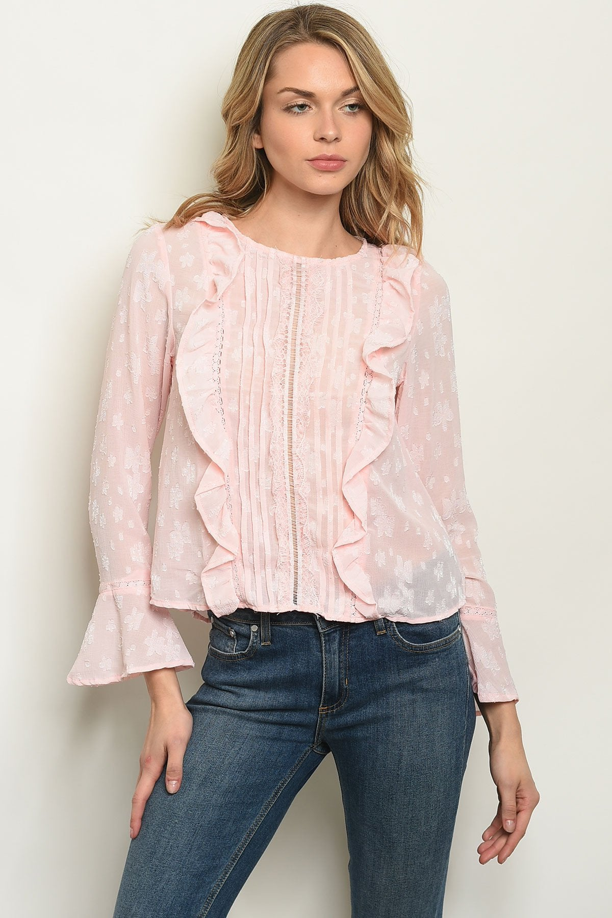 Pink Top - Manifest Best Boutique