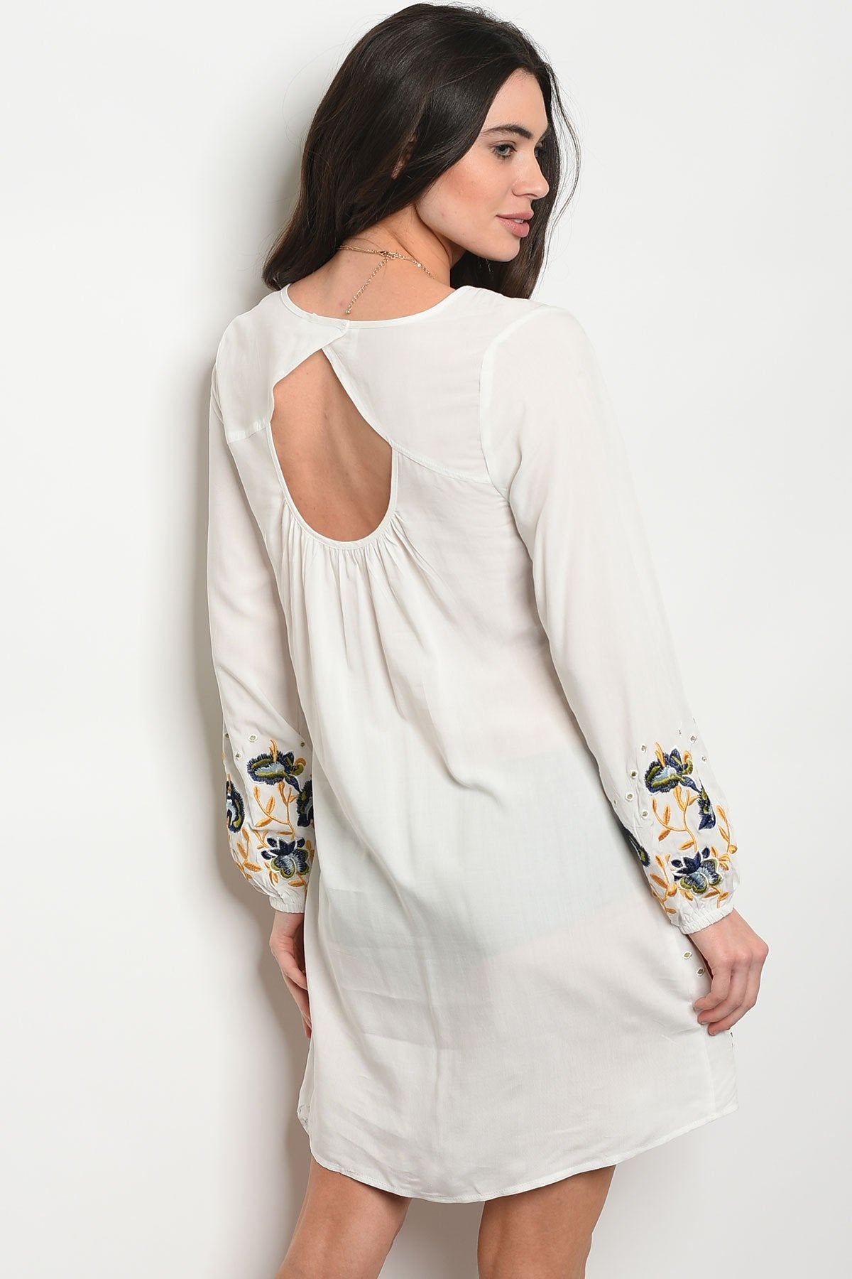 Womens Ivory Dress - Manifest Best Boutique