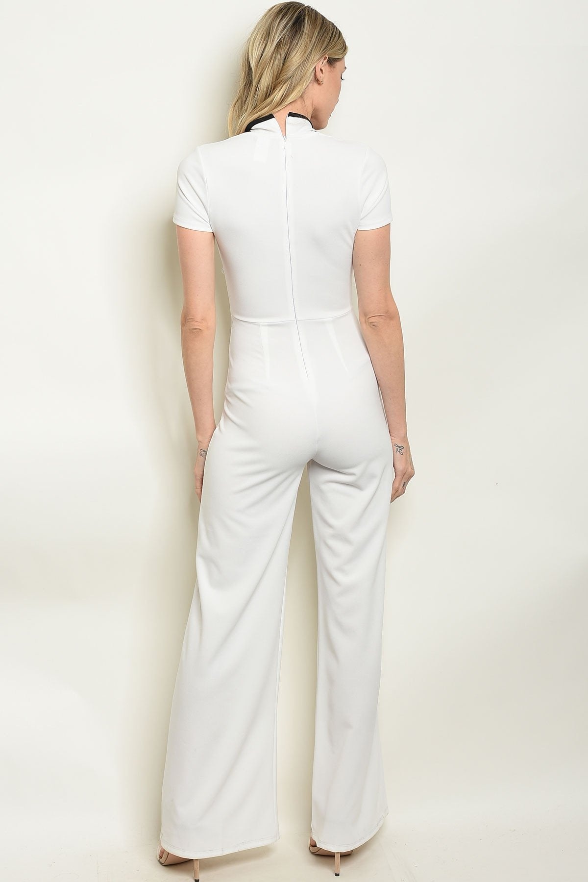 Ivory Jumpsuit - Manifest Best Boutique