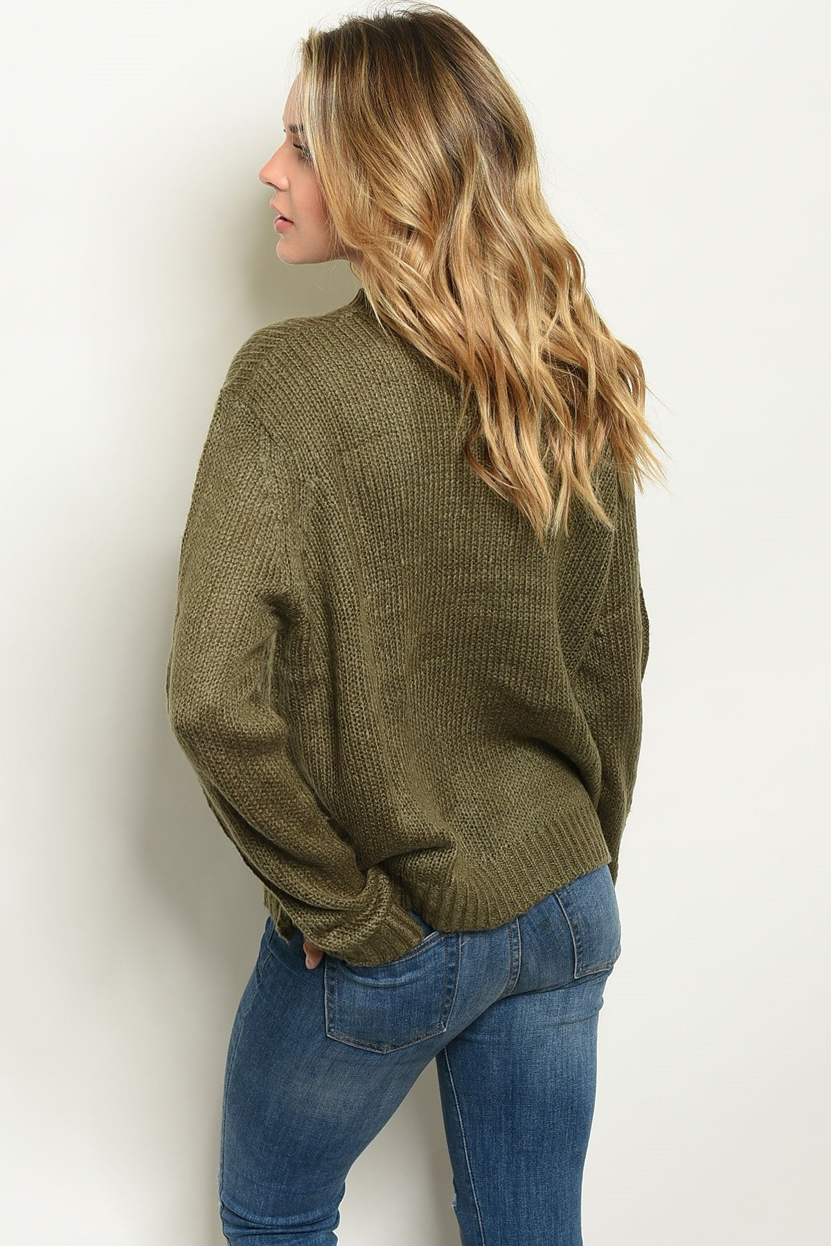 Shop the Trends Knit Sweater - Manifest Best Boutique