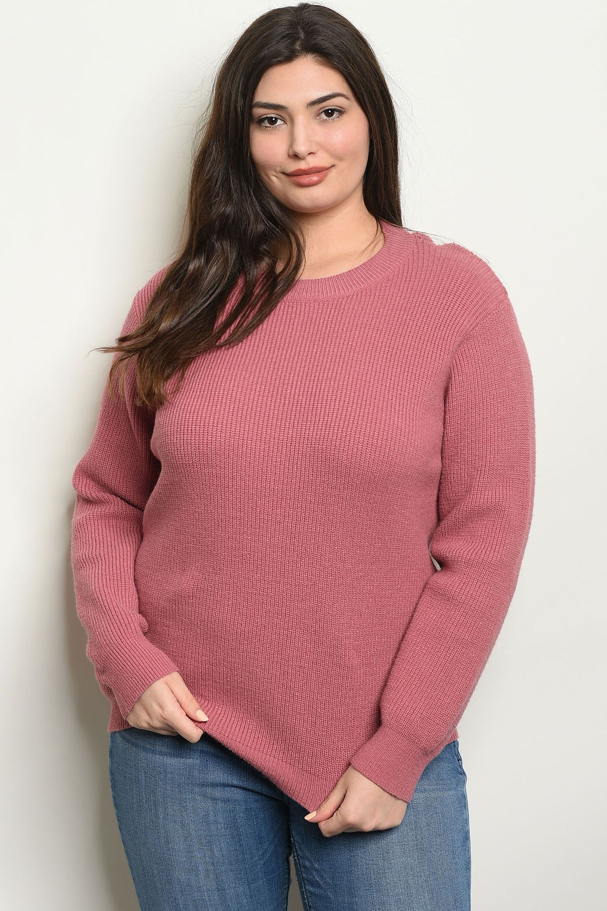 Womens Plus Size Sweater - Manifest Best Boutique