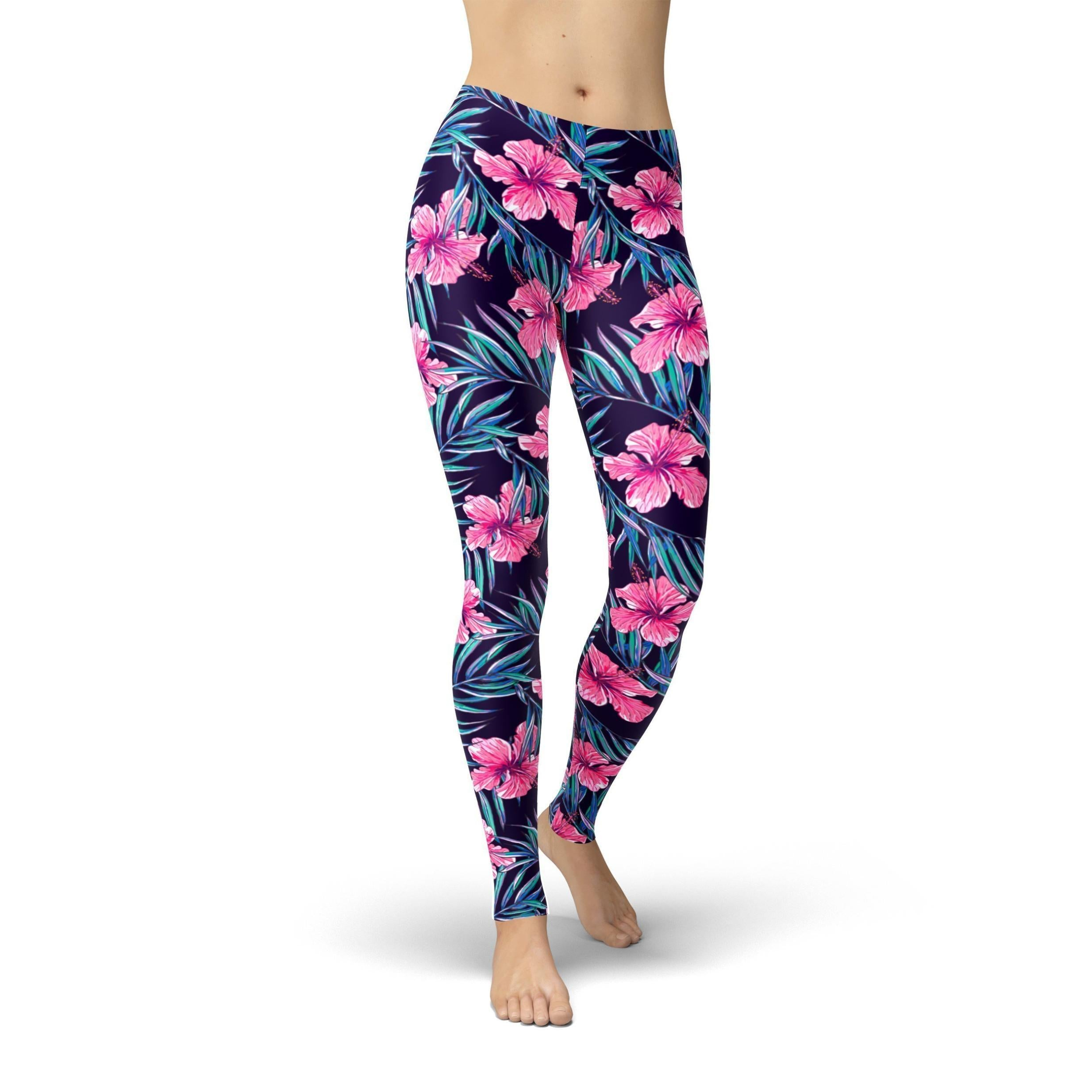 Jean Pink Tropical Flowers - Manifest Best Boutique