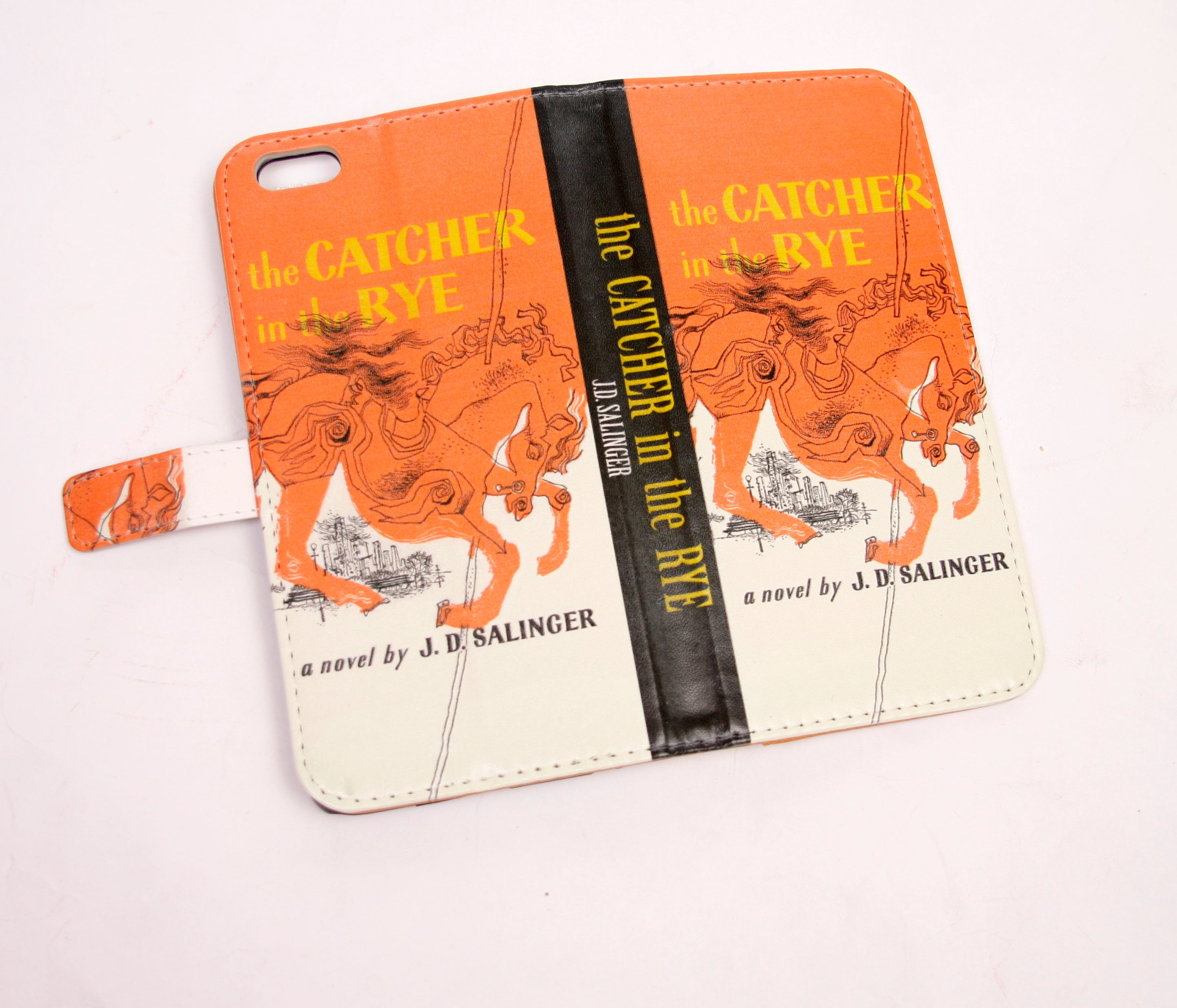 Catcher in the Rye Phone Flip Case Wallet for iPhone and Samsung - Manifest Best Boutique
