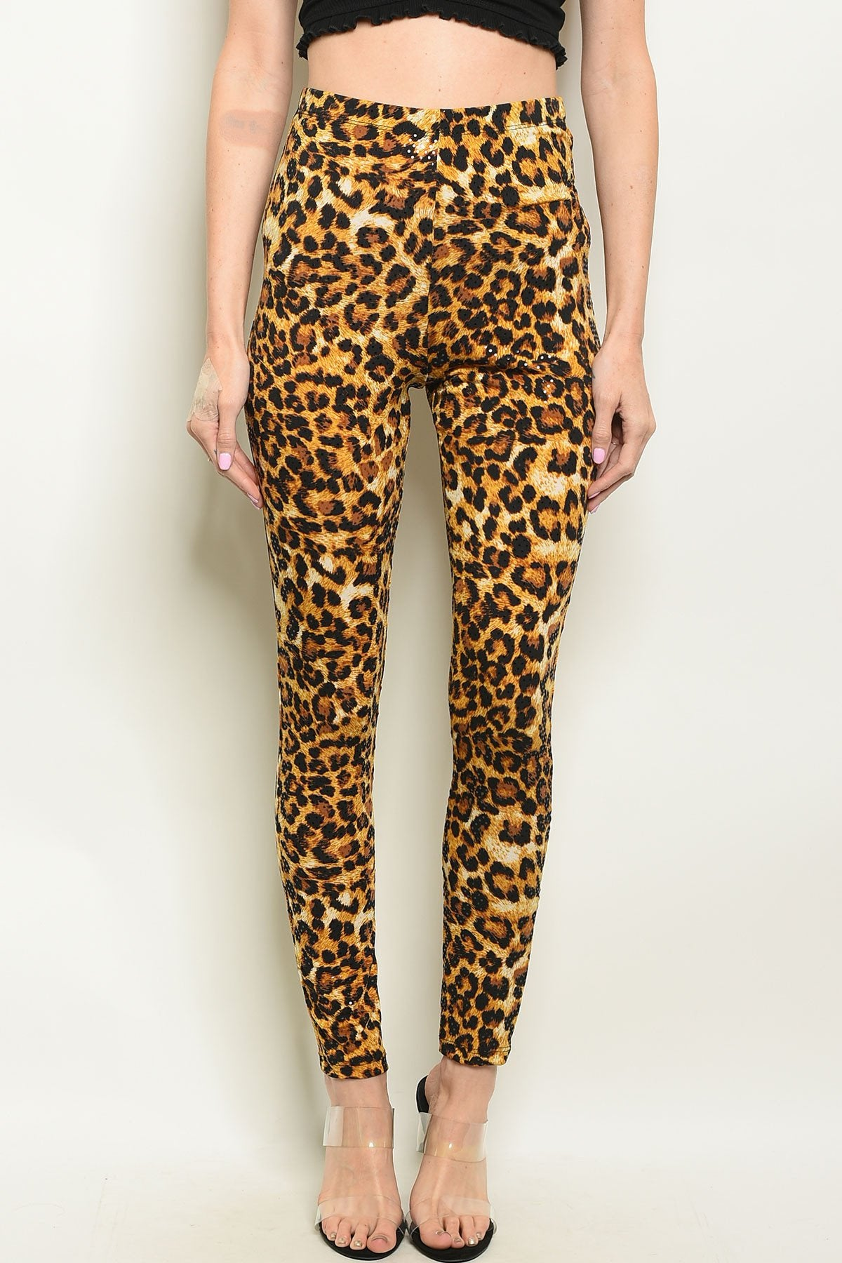 Leopard Print Pants - Manifest Best Boutique
