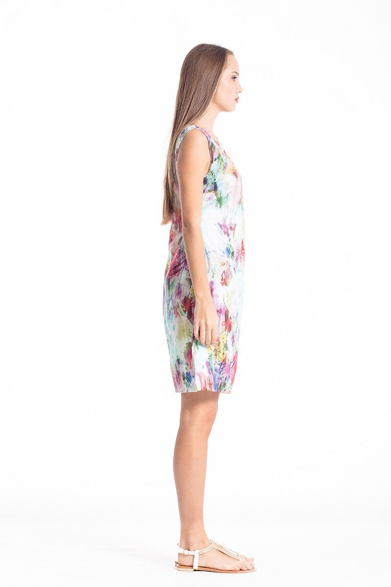 Floral Woven Dress - Manifest Best Boutique