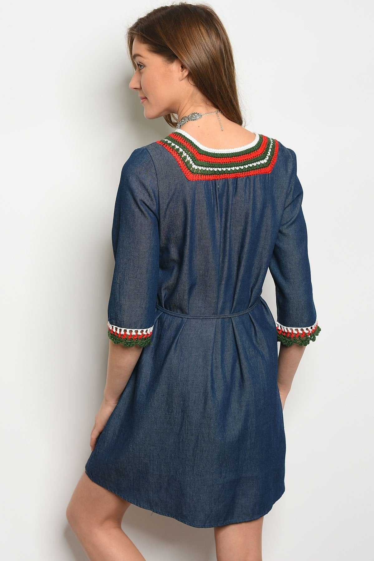 Womens Embroidery Dress - Manifest Best Boutique