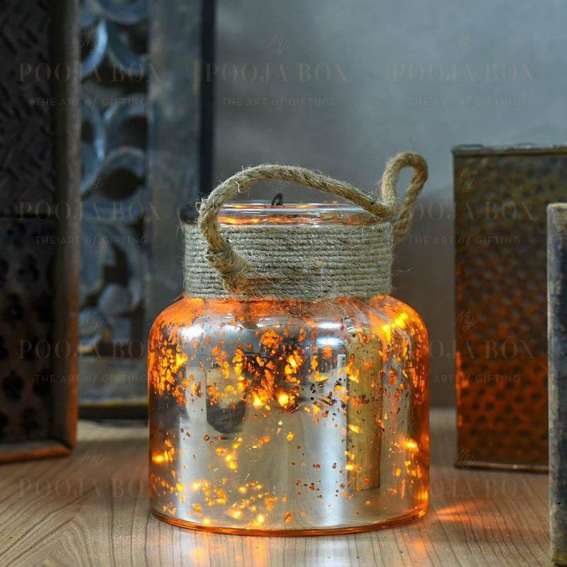 Fairy Dust Glass Jar