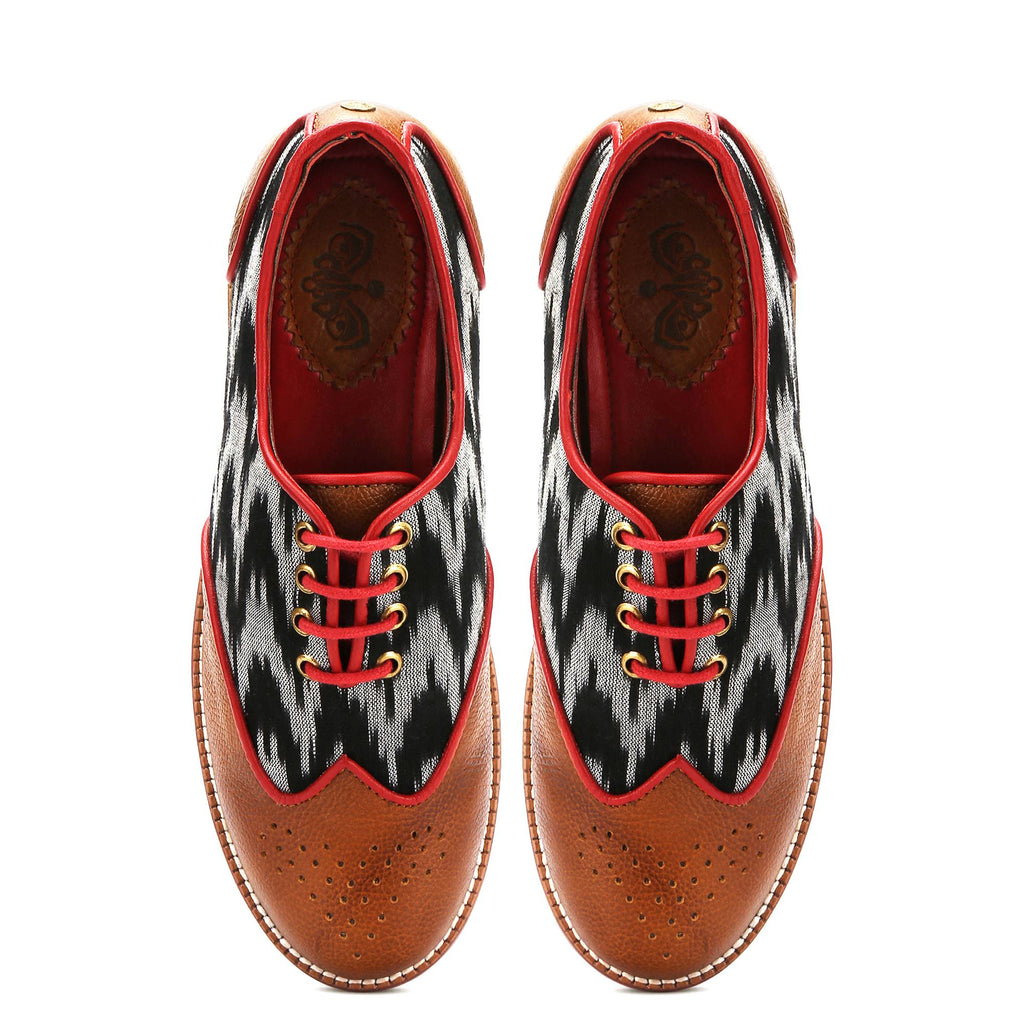 Ikat Brogues Women