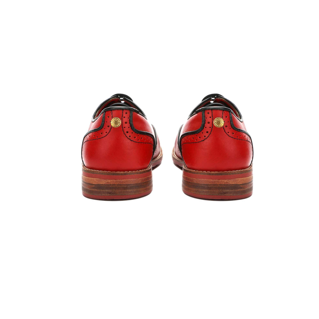 Core Brogues Women – Crimson