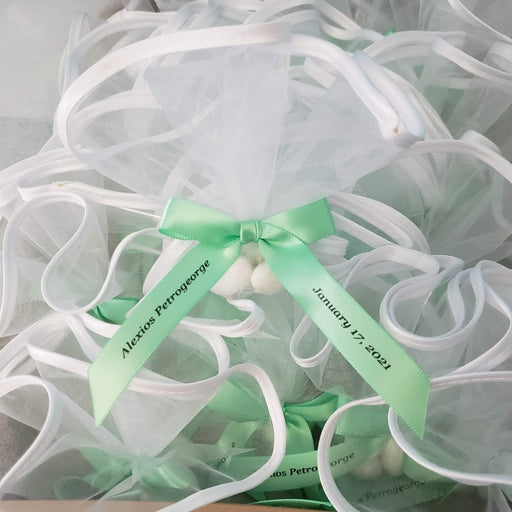 Organza w Satin Edge Favor