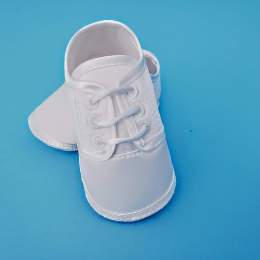 Boys Christening Satin Shoe