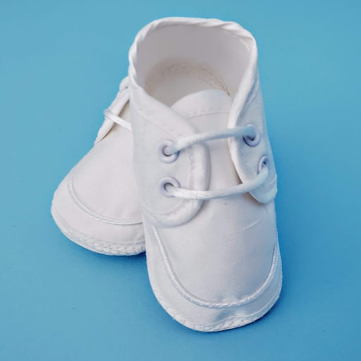 Boys Shoe - Silk Dupioni Christening Shoes