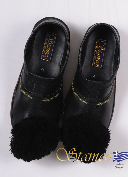 Tsarouchi Black Shoe - Sizes 30, 31, 32, 33, 34