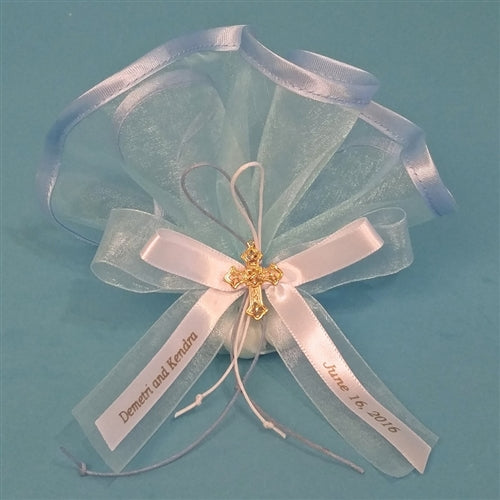 Organza Satin Edge Favor w Organza and Roping