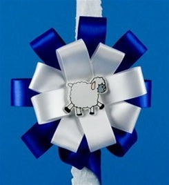 "24"" Circle Bows & Swirl (for Boy or Girl)"