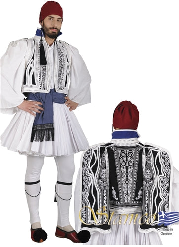 Evzonas Embroidered Man Costume