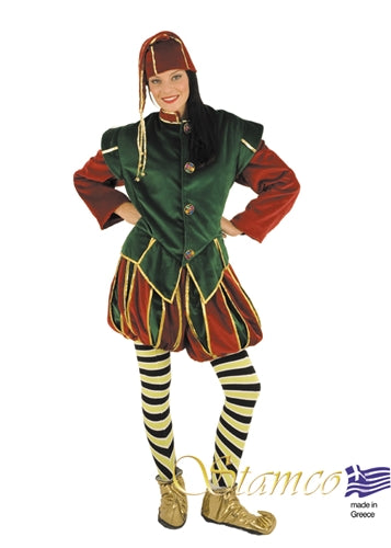 Christmas Elf Costume - Adult
