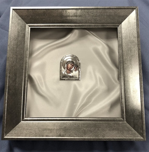Ionian Silver Stefana Case - w Icon
