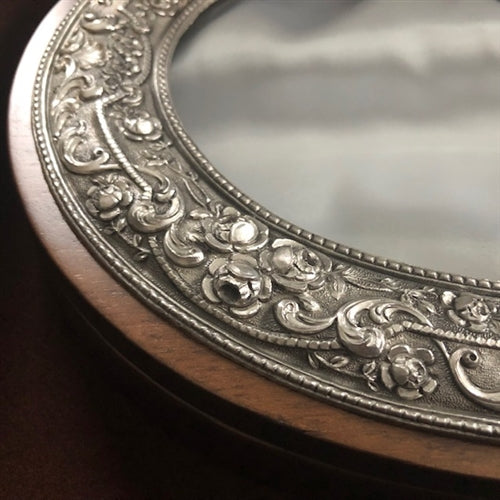 Sterling Silver Oval Case