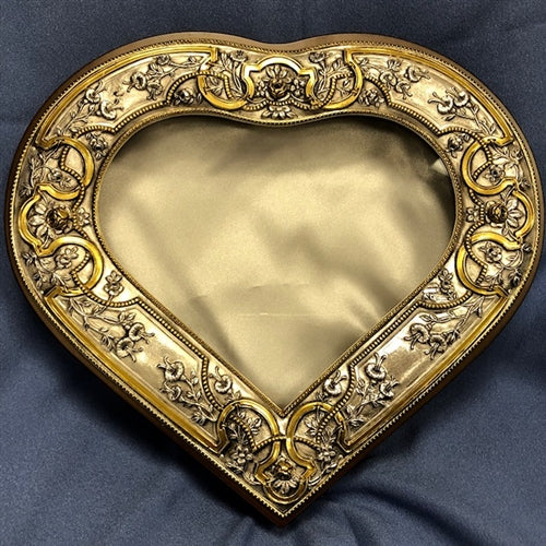 Heart with Gold Plating Case