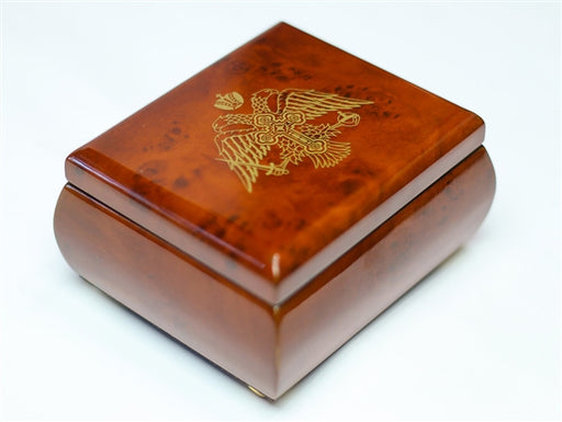 Double Headed Eagle Orthodox Treasure Box