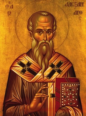 Saint Alexander Orthodox Icon