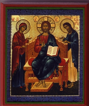 Deisis Orthodox Icon
