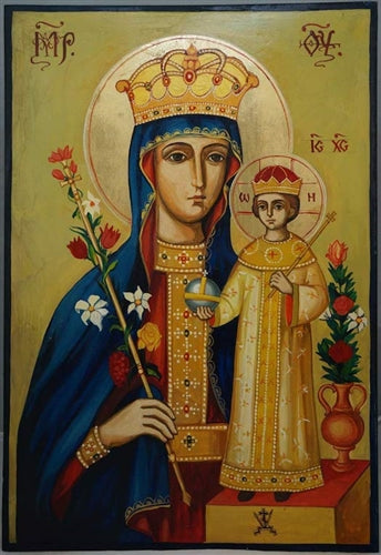 Mother of God Unfading Rose Orthodox Icon