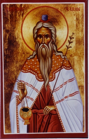 Saint Aaron The Prophet Orthodox Icon
