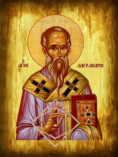 Saint Alexander Patriarch of Constantinople Orthodox Icon