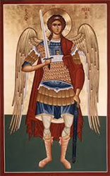 Michael the Archangel Greek Orthodox Icon