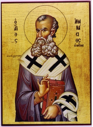 Saint Athanasios the Great Orthodox Icon