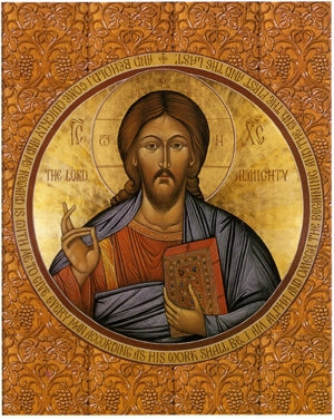 Christ, Jesus, the Lord Almighty Orthodox Icon