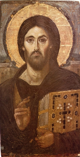 Christ Pantocrator of Sinai Orthodox Icon