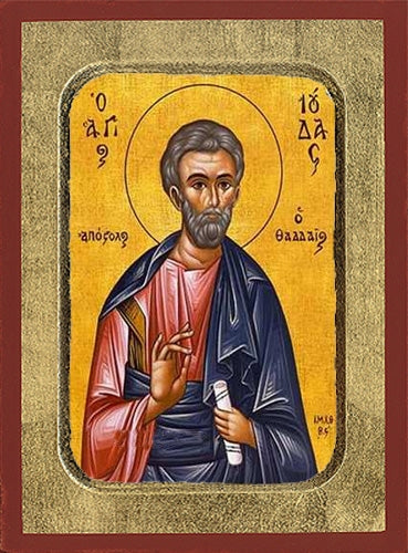 Jude Thaddeus the Holy Apostle Greek Orthodox Icon