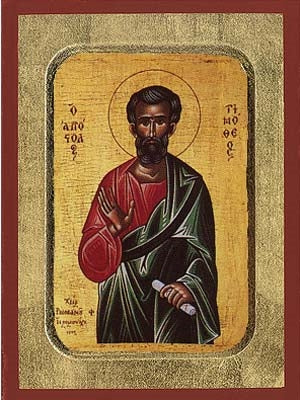 Timothy the Apostle Greek Orthodox Icon