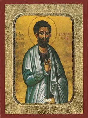Bartholomew the Apostle Greek Orthodox Icon