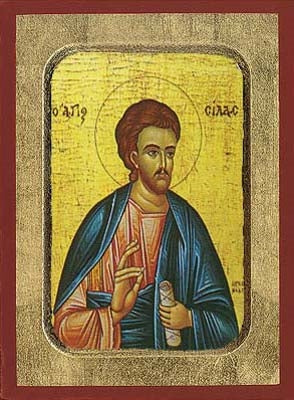 Silas the Apostle Greek Orthodox Icon
