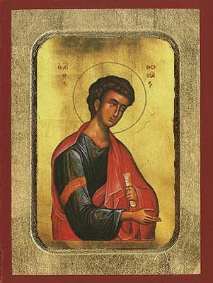 Thomas the Apostle Greek Orthodox Icon