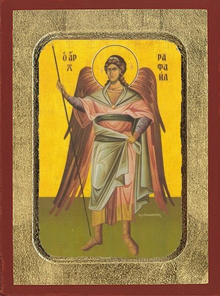 Archangel Raphael Greek Orthodox Icon