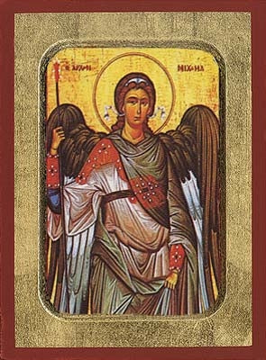 Archangel Michael Greek Orthodox Icon