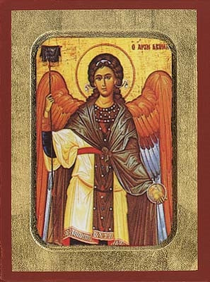 Archangel Gabriel Greek Orthodox Icon
