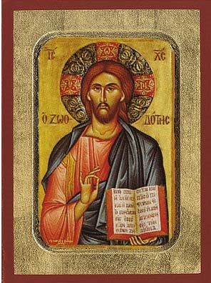 The Life-Giver Greek Orthodox Icon
