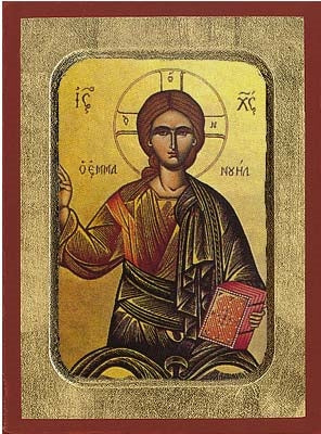 Emmanuel Greek Orthodox Icon