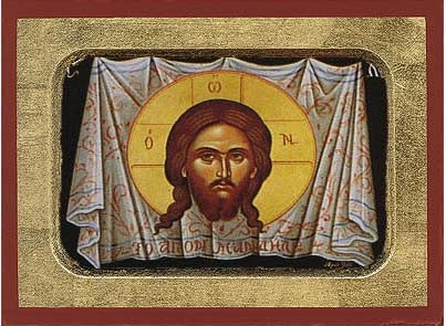 The Holy Napkin Greek Orthodox Icon