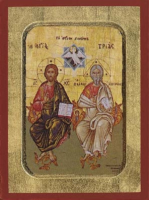 The Holy Trinity Greek Orthodox Icon