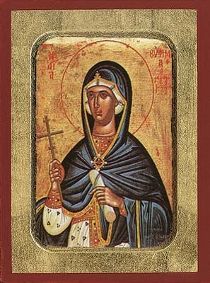 Saint Euphemia Greek Orthodox Icon